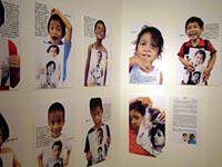 子どもたちの写真